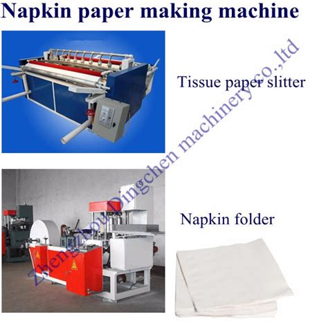 Tissue Paper Napkin Machine - automatic professional paper slitting and rewinding