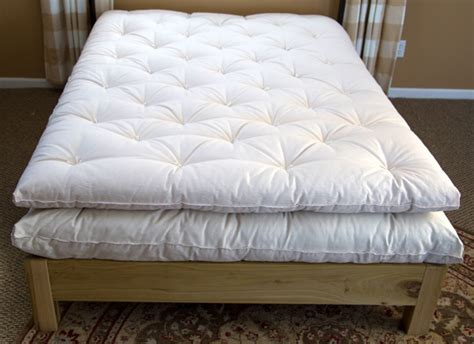 Handmade Cotton Mattress - eco wool economy mattress topper economical