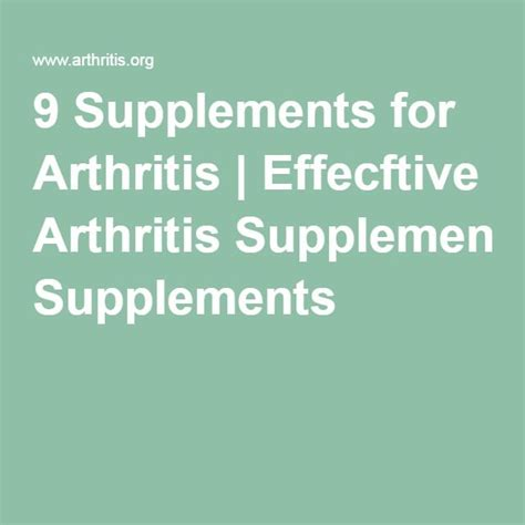 9 supplements for arthritis 52 best kick arthritis to the curb images on