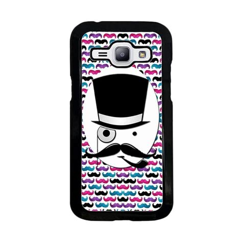 Casing Hp Samsung J1 jual acc hp mustaches wallpaper y1701 custom casing for