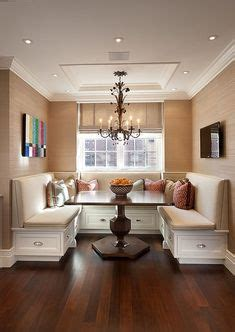 dining room banquettes space saving charming the challenge create seating for groups within a small