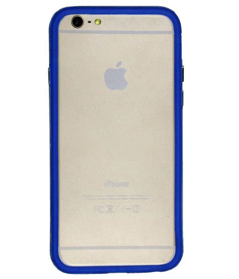 For Iphone 6 4 7 Inch Bumper Cover Small Leopard Print casotec backless bumper cover for apple iphone 6 4 7 inch blue buy casotec backless