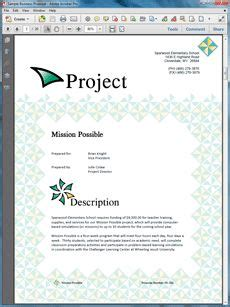 1000 Images About Sle Educational Proposals On Pinterest Educational Grant Writing Template