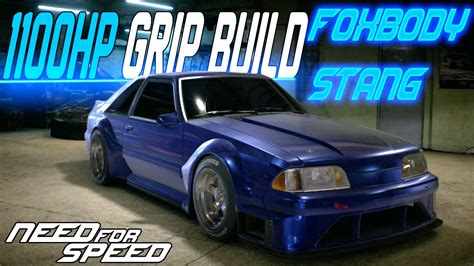 wide fox mustang need for speed 2015 1100hp wide foxbody mustang