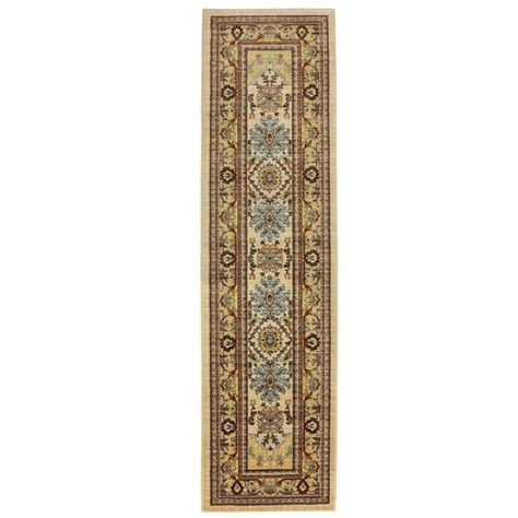 2 X 8 Runner Rugs Home Decorators Collection Charisma Butter Pecan 2 Ft X 8 Ft Rug Runner 406332 The Home Depot