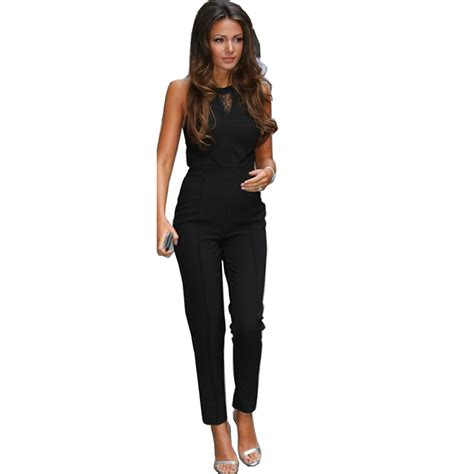 Jumpsuit Overall 13 23 awesome black jumpsuit playzoa