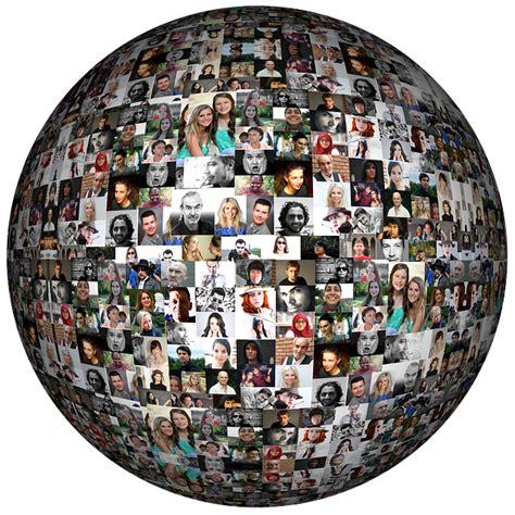 social media faces photo album  image  pixabay