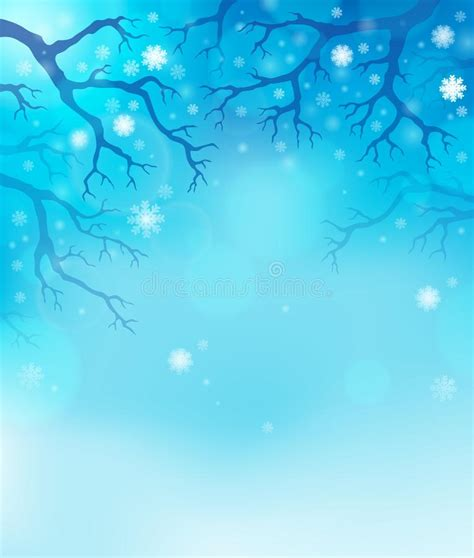 themes for the story winter dreams winter theme background 1 stock image image 33592421