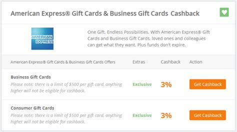 Amex Gift Card Cash Back - american express gift cards 3 cash back via topcashback frequent miler