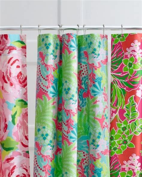 lilly shower curtain pin by shelby buckley on dream home pinterest