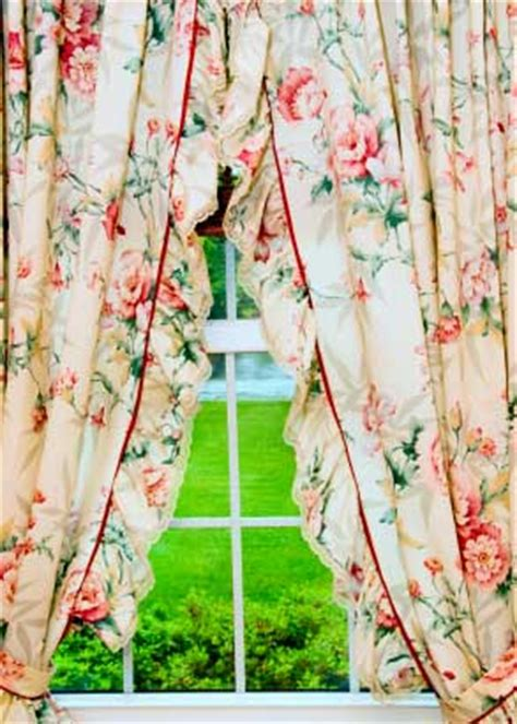 Country Floral Curtains Curtains Blinds