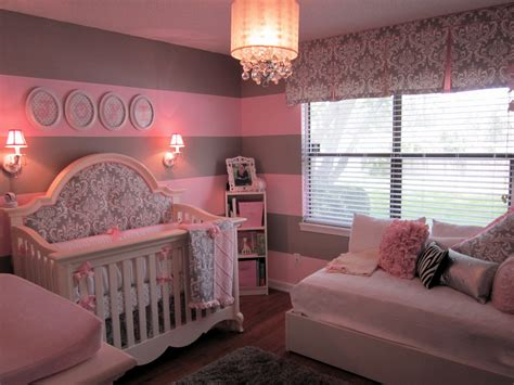 pink baby room pink and gray for baby j project nursery
