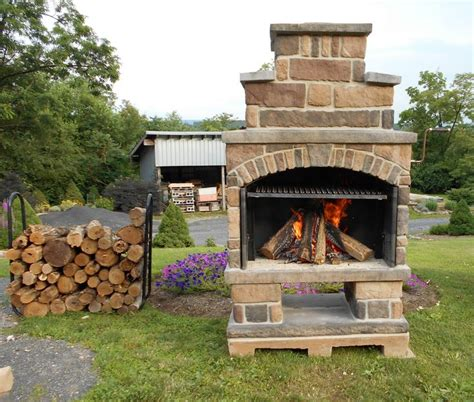 backyard fireplace kits 17 best images about exceptional stone on pinterest