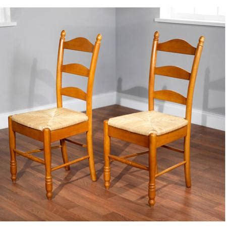 ladder back dining chairs with seats ladder back seat chairs set of 2 colors