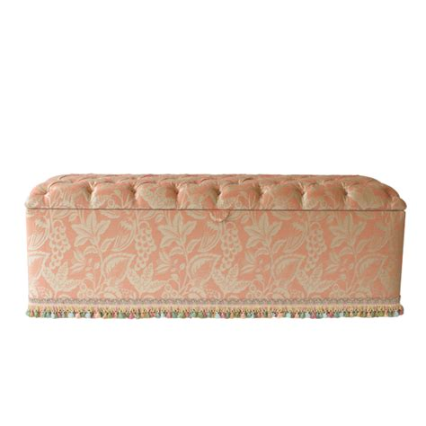 deep buttoned ottoman deep button ottoman kingston traditional upholstery