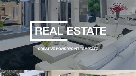 Real Estate Powerpoint Presentation Template Youtube Powerpoint Real Estate Templates
