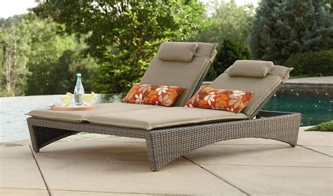 Double chaise lounge outdoor furniture color outdoor furniture