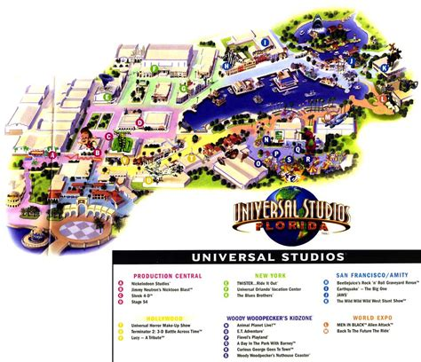 map of universal studios universal studios map 2012 universal studios orlando 2003 images frompo