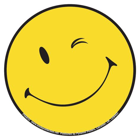 Winking Smiley Face Emoticon | famous winking smiley face