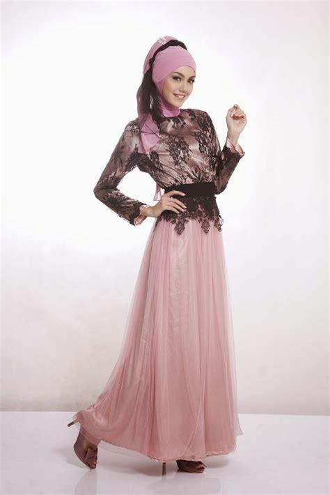 design baju gamis modern 2015 20 contoh baju gamis muslim brokat terbaru 2018