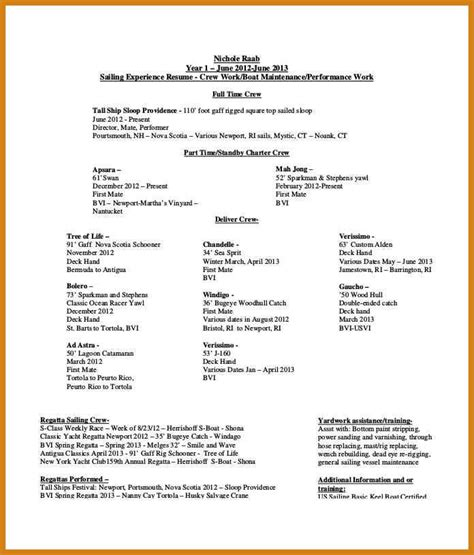 model resume format for experience resume models free letter format template