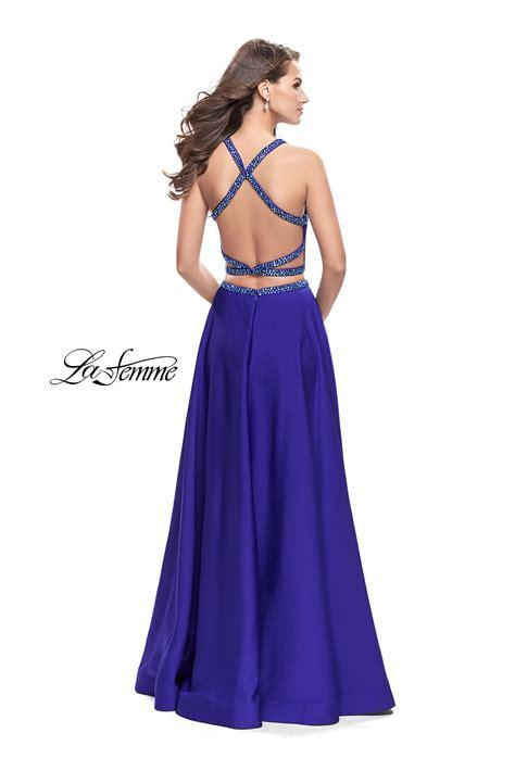 Blue Dress 25919 la femme 25978 la femme