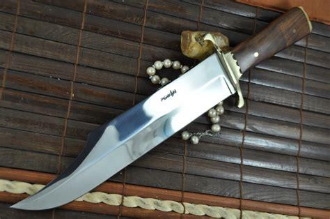 Handmade Bowie Knives Uk - handmade knife beautiful bowie knife 440c steel