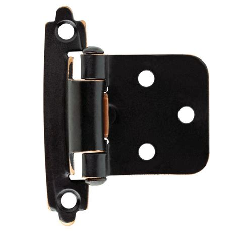 Black Kitchen Cabinet Hinges Liberty 35 Mm 110 Degree Overlay Hinge 1 Pair Hc11sfc Np C5 The Home Depot