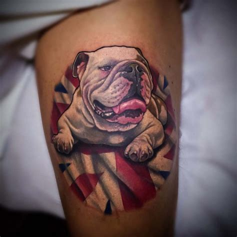 british bulldog tattoo designs bulldog best ideas gallery