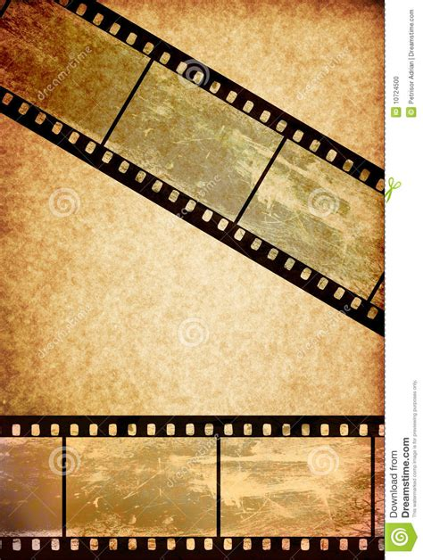 film paper film tape on vintage old paper background stock