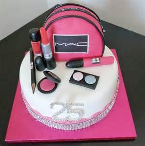 mac makeup birthday cake wedding amp birthday cakes from maureen s kitchen in whitley bay