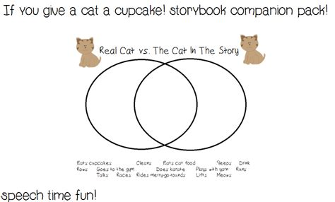 if you give a cat a cupcake storybook companion pack