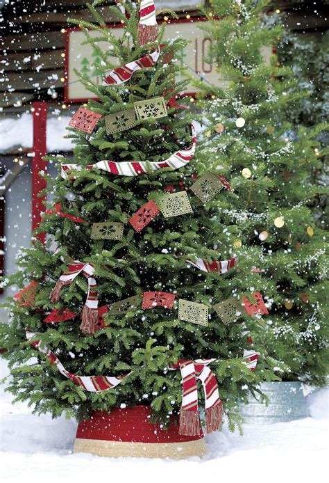 shop crate and barrel for your christmas tree garland and