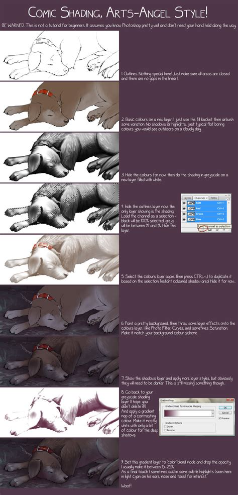 adobe photoshop shading tutorial smooth comic shading tutorial by artsangel on deviantart