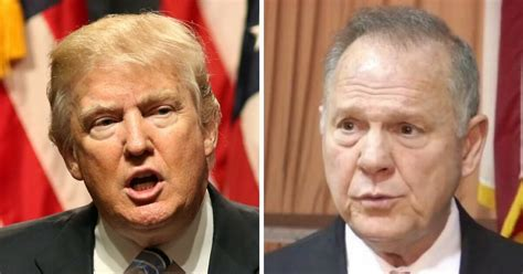 donald trump on roy moore white house official leaks bombshell statement on roy moore