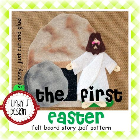 religious quiet book pattern the first easter bible story flannel felt board pdf