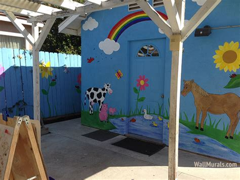 a day wall mural outside wall murals outdoor mural exles