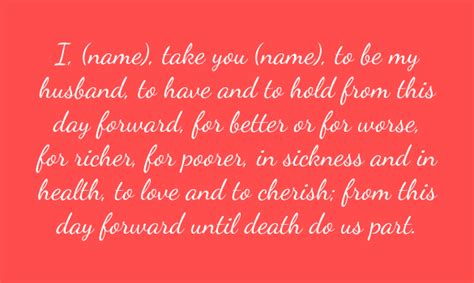 Wedding Vows Quotes Tagalog by Marriage Vows Www Pixshark Images Galleries