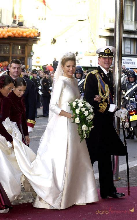 imagenes bodas reales la reina m 225 xima de holanda el d 237 a de su boda