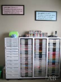 Organizing Craft Paper - 25 best ideas about craft room organizing on