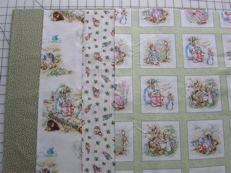 Beatrix Potter Quilt Fabric by Beatrix Potter Rabbit Quilting By Debralynnedesigns