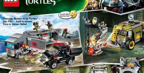 film lego ninja turtles ninja turtles movie lego sets leak clues to film content