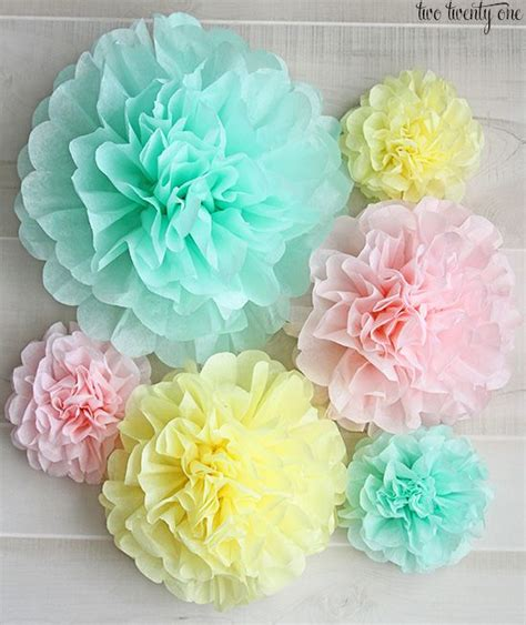 How To Make Tissue Paper Pom Poms Balls - best 25 tissue paper ideas on tissue