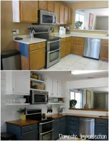 Cheap Kitchen Makeover Ideas Before And After by Budget Diy Kitchen Easy Home Decorating Ideas
