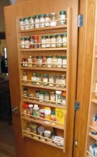 7 shelf wood door mounted spice racks 13 quot to 24 quot wide