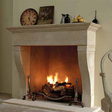 Real Log Fireplaces by Real Fireplaces Baskets In The Wall