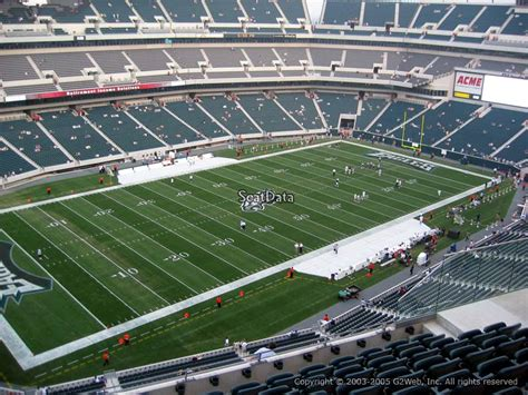 section 244 lincoln financial field section 240 seat view at lincoln financial field