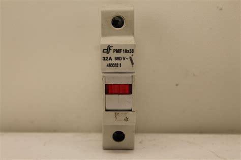 Fuse Holder Untuk Fuse 10x38 df pmf 10x38 fuse holder plc surplus supply llc