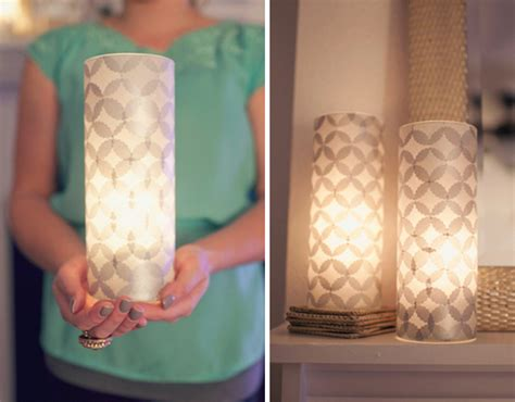 How To Make Paper Luminaries - how to make modern tissue paper luminaries curbly