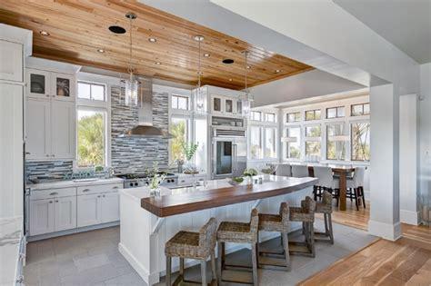 beach house kitchen design modern kitchen room design idea with beautiful beach view